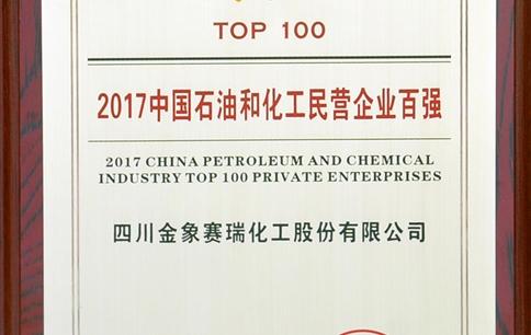 2017中国石油化工民营企业100