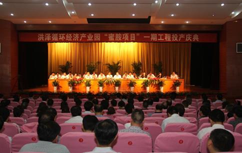 2012年6月20日,洪泽银珠三聚氰胺建成投产